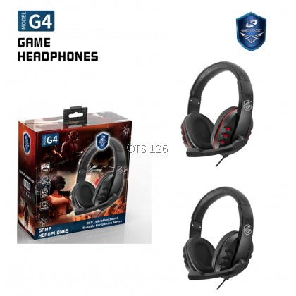 Headphones For Gaming / Online Classes Wired Stereo Headset with Mic Volume Control